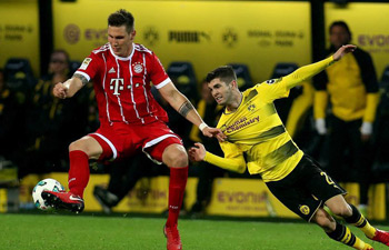 German Bundesliga: Bayern beats Dortmund 3-1
