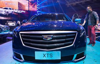 Cadillac launches latest generation XTS vehicle in Beijing