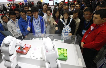 China Int'l Industry Fair opens in Shanghai