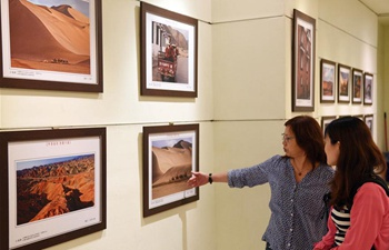 Photo exhibition on culture, scenery of China's Gansu held in Taipei