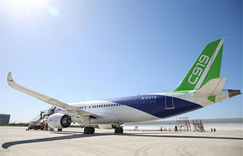 C919 takes first long-distance flight in preparation for further tests