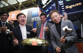 Tencent- and Sohu-backed Chinese search-engine Sogou debuts on NYSE
