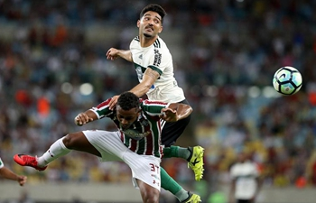 Brazilian Serie A 33rd round: Coritiba draws with Fluminense 2-2