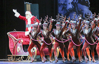 2017 production of Christmas Spectacular show makes its debut in New York