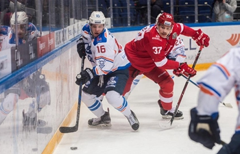 HC Spartak beats Lada 4-2 during KHL hockey game