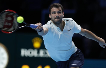 ATP World Tour Finals: Dimitrov wins 2-0