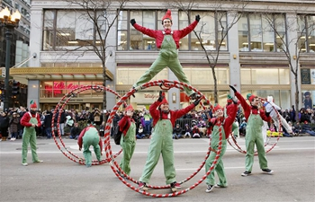Chicago Thanksgiving Parade unveils under tight security