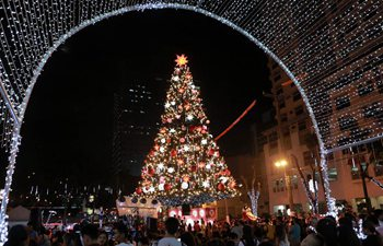 Lights, Christmas decorations seen in Quezon City