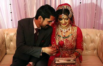 In pics: wedding ceremony in Pakistan's Multan