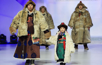 14th Mongolian Costume Arts Festival held in Hohhot