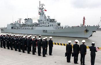 Pakistani Navy frigate visits Shanghai