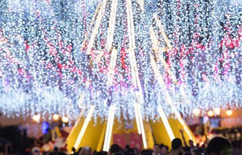 Macao decorated with lights to greet upcoming Christmas