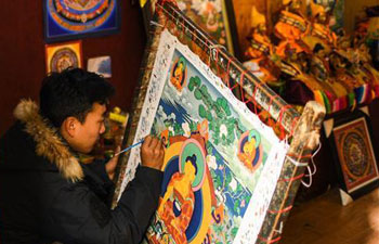 In pics: Tibetan art Tangka painting