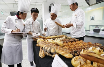 Qualification match for 7th world bread competition held in Shanghai
