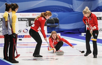 China defeats Denmark in women's curling Olympic qualification match