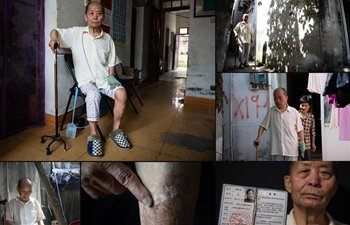 In pics: combo photos of survivors of Nanjing Massacre
