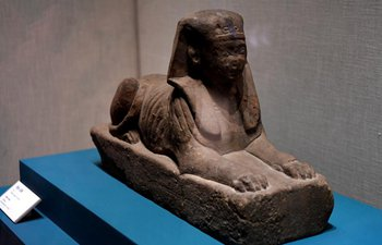 Exhibition on antiques of ancient Egypt held in China's Henan
