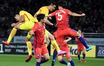 China ties South Korea 2-2 in EAFF E-1 Football Championship