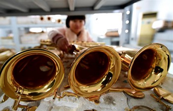 In pics: Instrument making company in Hebei