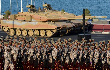 Qatar holds military parade rehearsal for National Day