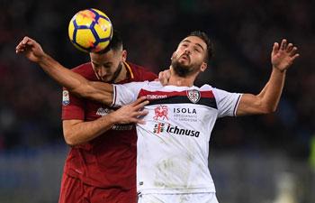 Roma defeats Cagliari 1-0 in Serie A match