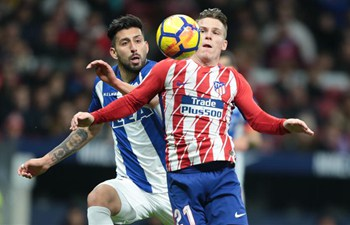 Spanish league: Atletico Madrid wins Alaves 1-0