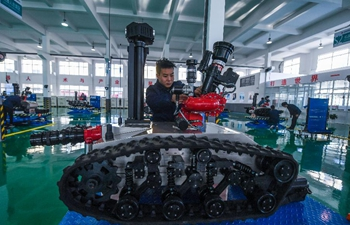 Special robot manufactory put into operation in east China
