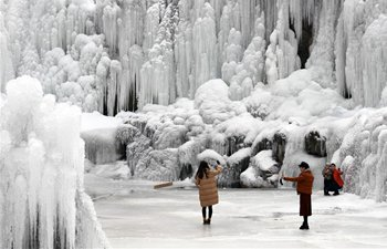 In pics: Icicles scenery in Gansu