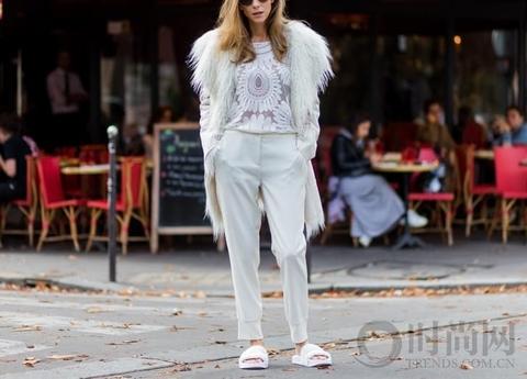 冬天会穿白裤子的才是白雪公主