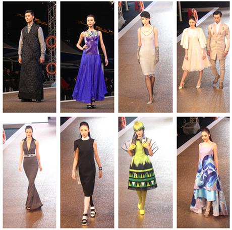 设计师依次登场,用他们设计的充满时尚潮流元素的服装服饰成高清图片