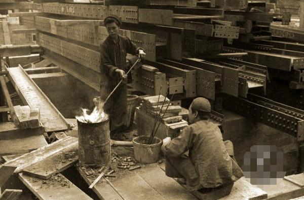 罕见老照片:旧上海苦力*(图) 一幅罕见老照片 周