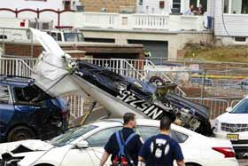 美一小型飞机在新泽西坠毁