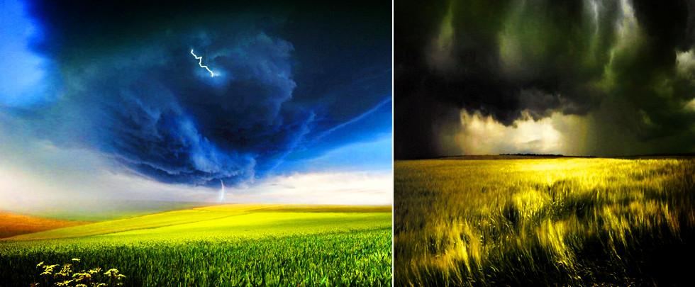 攝影師追逐風暴拍自然界的怒火(組圖)
