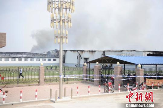 吉林禽业公司火灾事发早上6点 当时听到三声爆炸