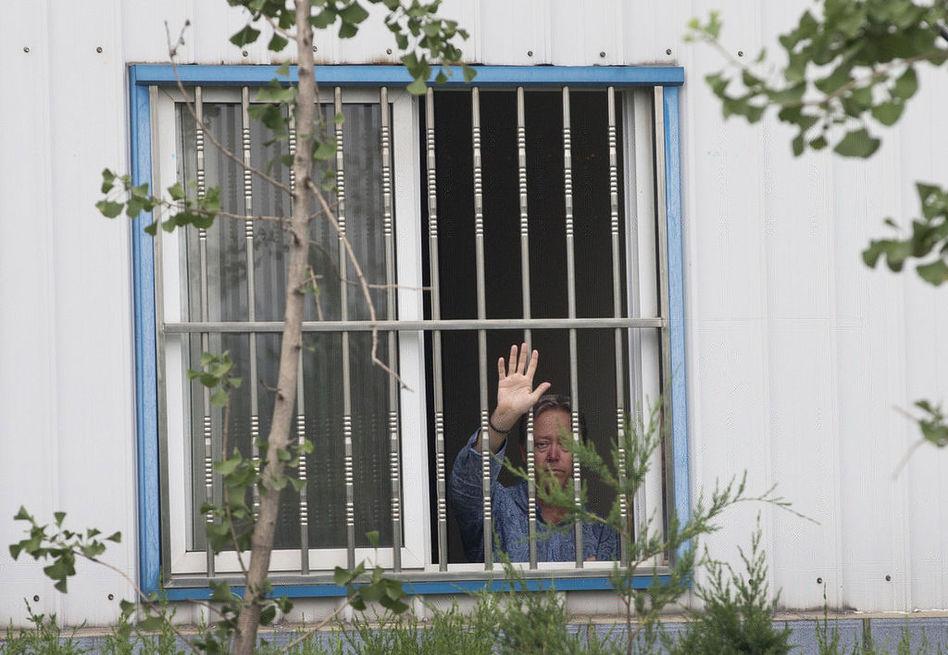 """一美国老板在北京怀柔厂区被""""困""""4天(组图)"""