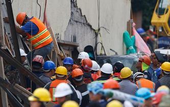 墨西哥地震死亡人數升至273人