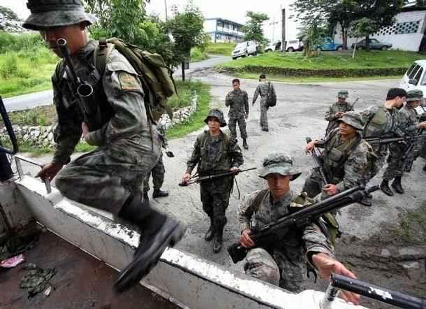 菲律宾特种部队日常训练-特种部队哪家强 中国周边六国 虎视眈眈 的图片