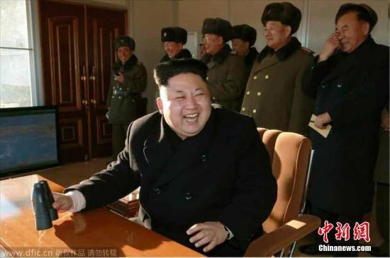 资料图:朝鲜最高领导人金正恩-韩媒 金正恩或将出席亚非峰会亮相首图片