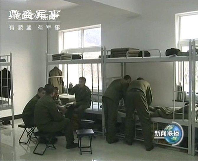 确实差很多 中美俄越军营宿舍内部实拍对比图片