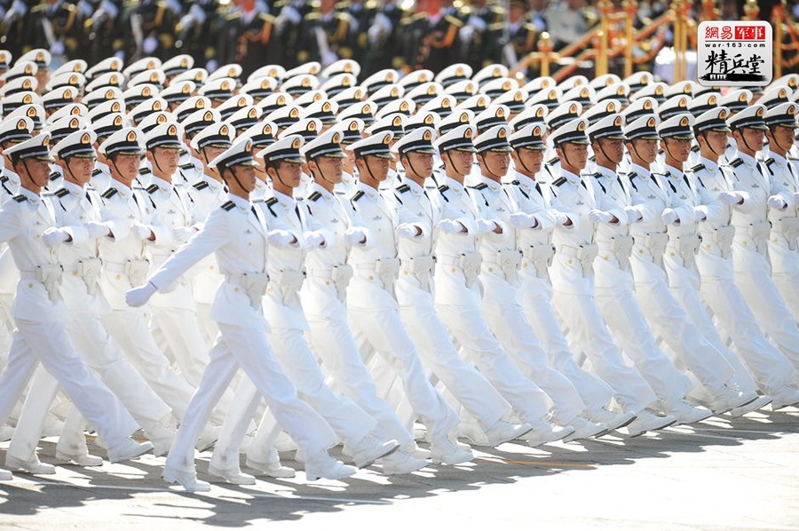 Great changes: the people's army Chinese uniform development of ...