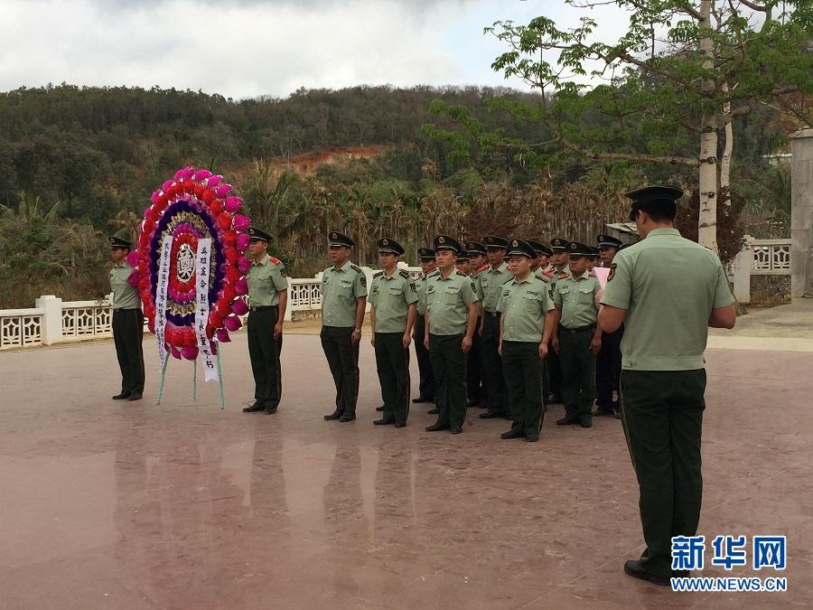 争做新一代革命四有军人,4月2日上午,海南三亚边防支队机动中队图片
