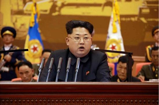 资料图:朝鲜最高领导人金正恩-金正恩命令军队进入战时状态 向前线图片