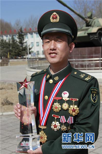 北京军区兵种训练基地三级军士长郭峰故事集