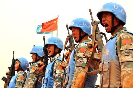 中国铁军 永远的 开路先锋