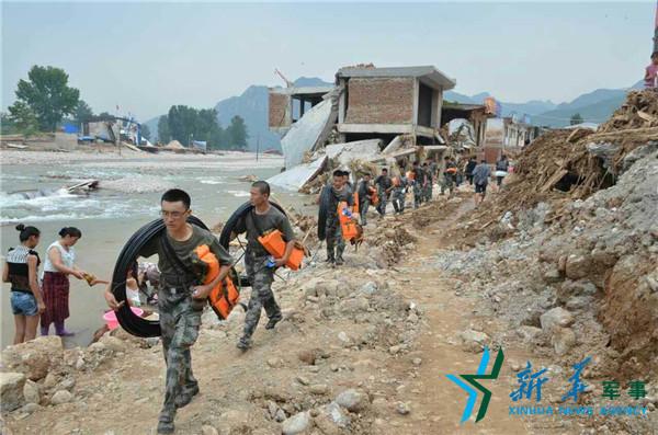 第27集團軍某旅炮兵團緊急搶通邯鄲兩市縣通信線路