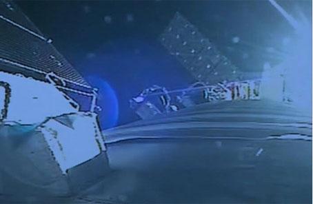 神舟十一号飞船与天宫二号交会对接成功后,神舟十一号飞船推进舱外