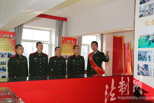 吉林边防总队机动支队用身边典型提升教育实效