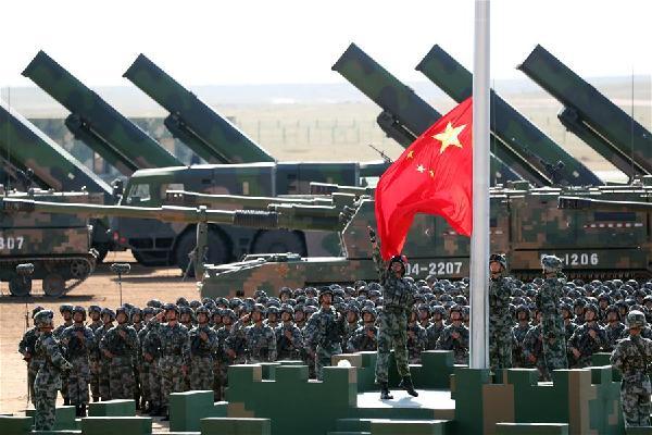 (建军90周年阅兵)(2)庆祝中国人民解放军建军90周年阅兵举行