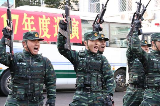 武警部队野战总队小分队到北京教程十七视频进支队鞋拆文化图片
