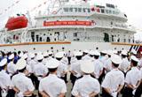 中國海事86米海巡船列編浙江 具備釣魚島巡航實力